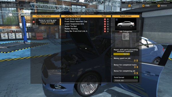 Car Mechanic Simulator 2015 Review Screenshot Wallpaper Job List