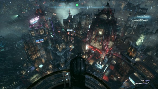Batman Arkham Knight Review Screenshot Wallpaper Gotham is Gorgeous