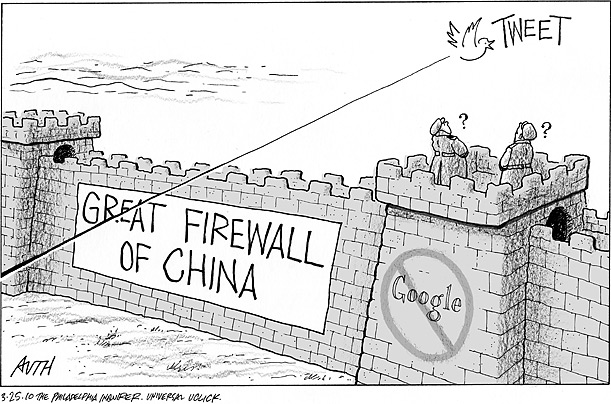 about that Chinese firewall…