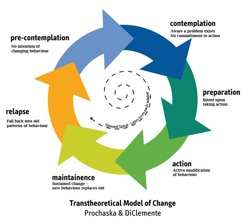 Image result for stages of change model