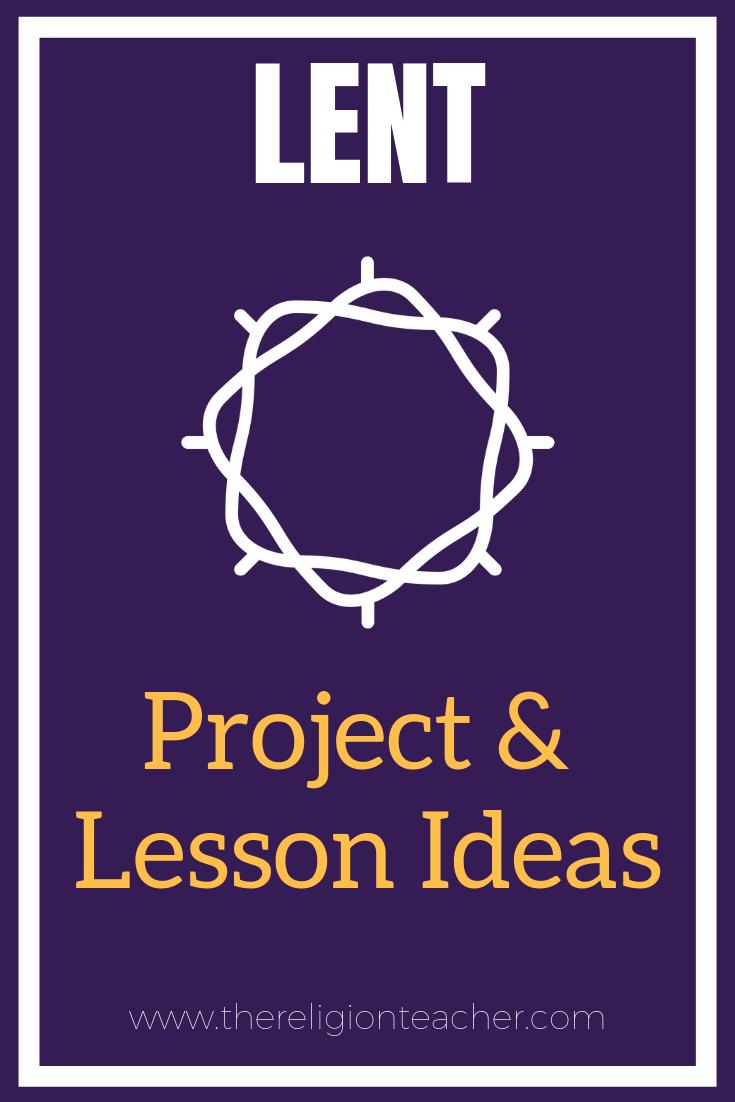 medium resolution of Lent Project and Lesson Plan Ideas   The Religion Teacher   Catholic  Religious Education