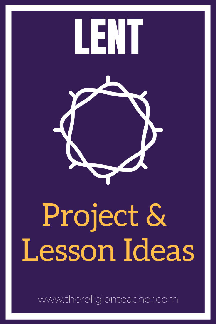 hight resolution of Lent Project and Lesson Plan Ideas   The Religion Teacher   Catholic  Religious Education