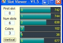 Theremino SlotViewer a simple and handy slot explorer and editor.