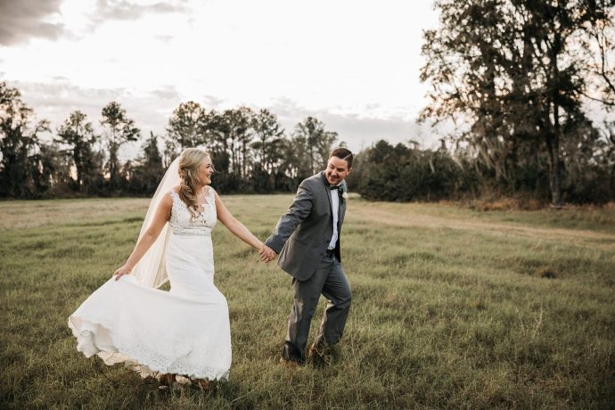 Outdoor Rustic Florida Wedding