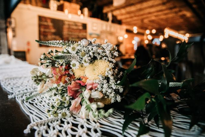 Elopement details at Swamp Rabbit