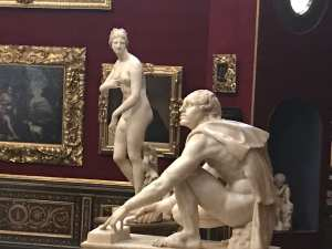The famous Medici Venus in the Uffizi.