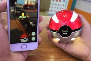 Buy Pokemon Go Pokeball Power Bank from China