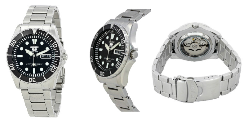 Seiko watch that looks like Rolex Submariner