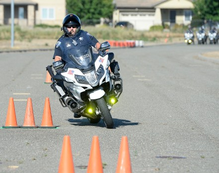 Fairfield Motorcycle Officers Train To