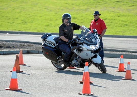 Officer Trains For Vacaville Police