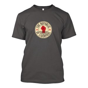Grey Republic of Liverpool T-shirt