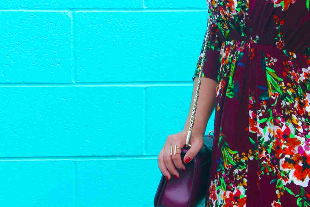 Floral Maxi Dress Republic of Rose