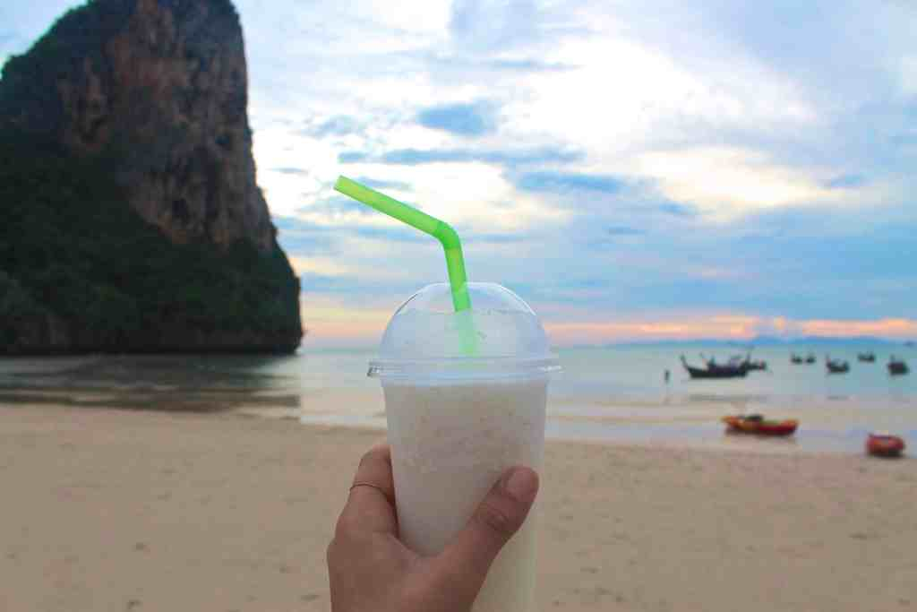 Republic of Rose Beginner's Guide to Thai Food Coconut Smoothie