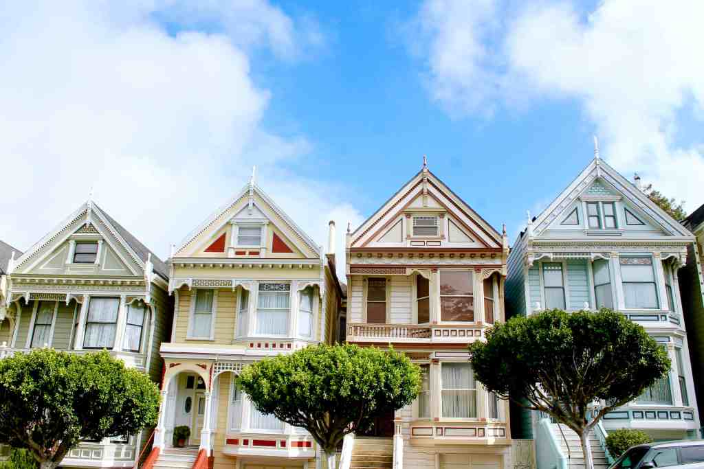 3 MUST-SEE SPOTS IN SAN FRANCISCO | THE REPUBLIC OF ROSE | PAINTED LADIES