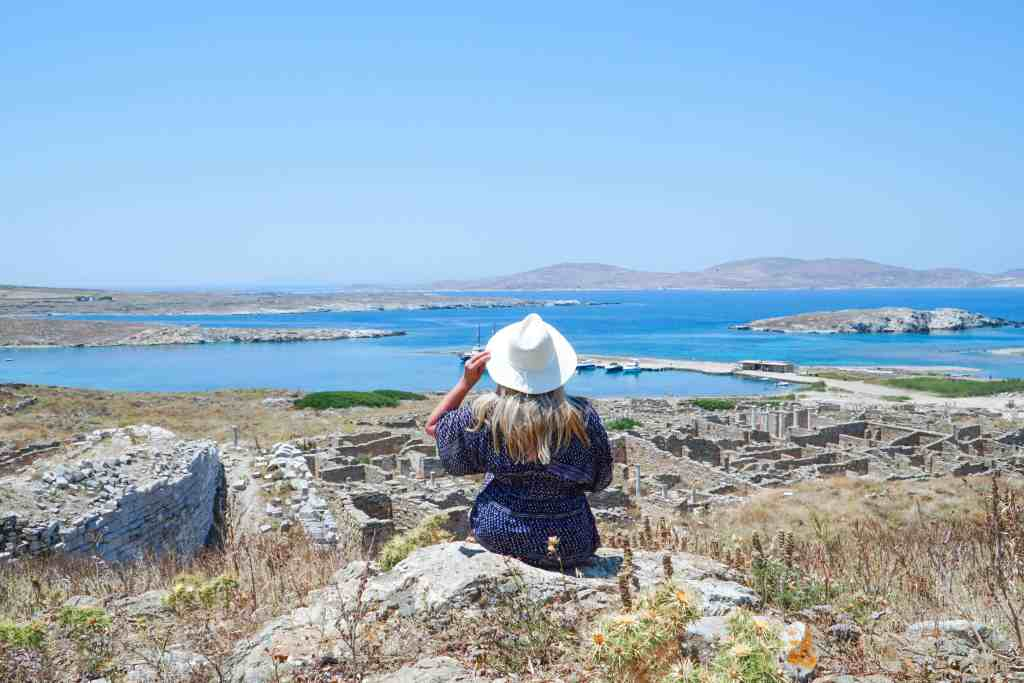 Visiting the Island of Delos Greece   The Republic of Rose