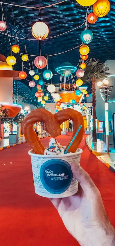 IMG Worlds of Adventure Dubai Ice-cream