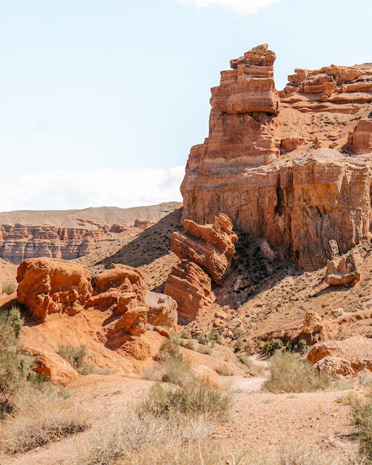 Charyn Canyon Kazakistan Almaty Region