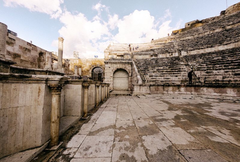 Teatro Romano Amman - Giordania