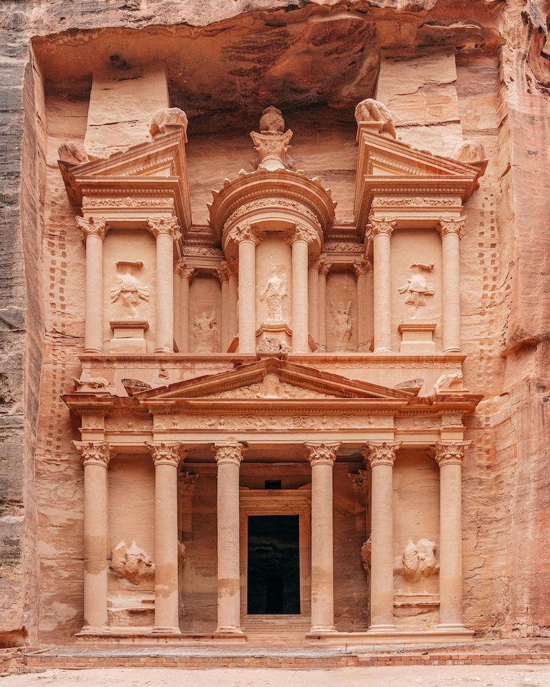 Al-Khazneh, the Treasury, Petra - Giordania