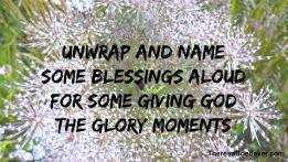 Giving God the Glory photo