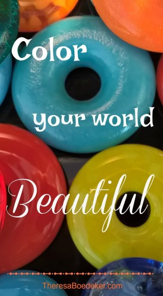 Color Your World Beautiful Quote PT