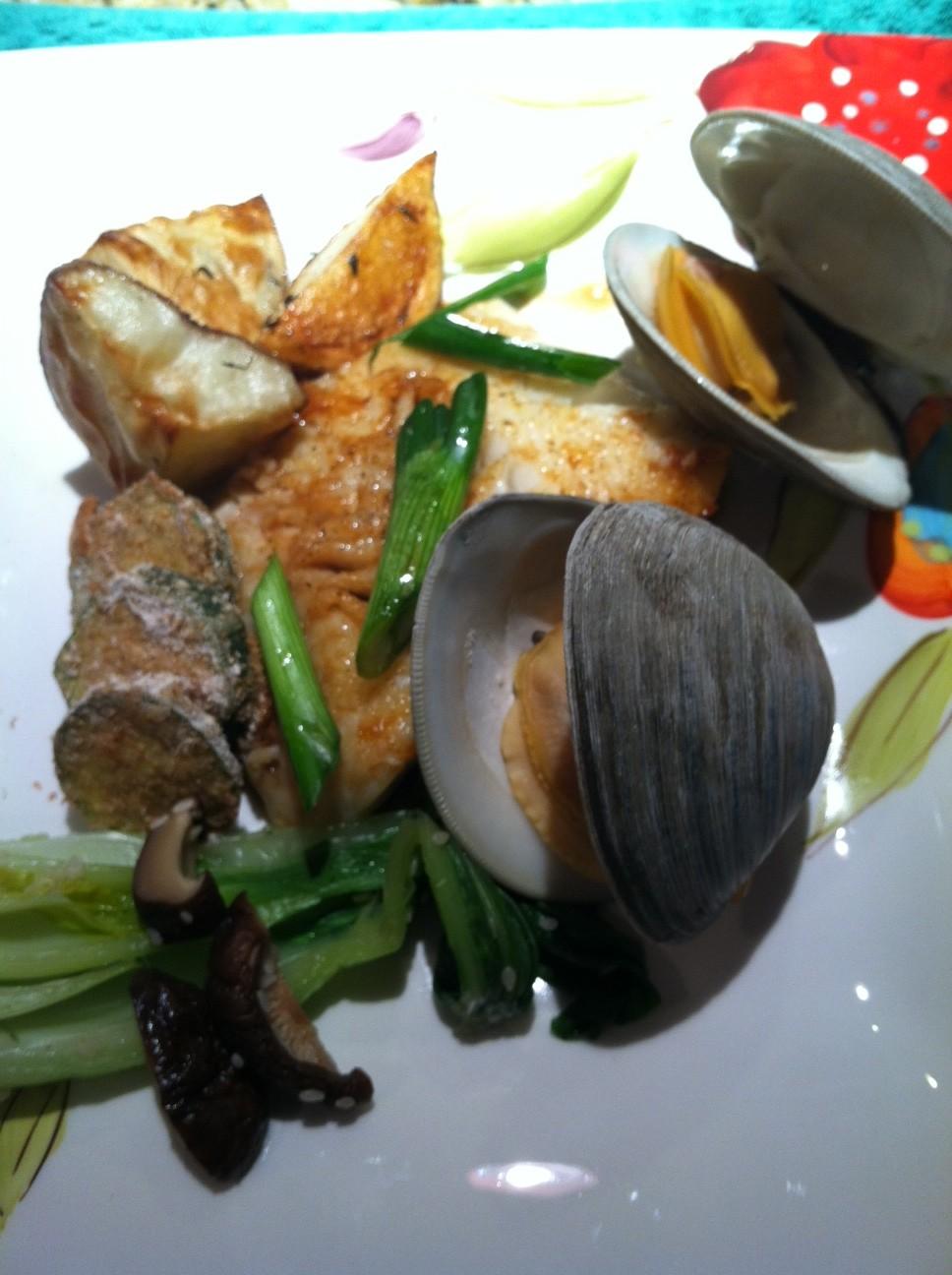 Asian style chilean sea bass