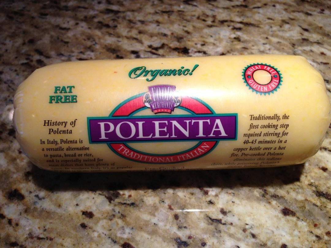 Image result for premade polenta roll organic