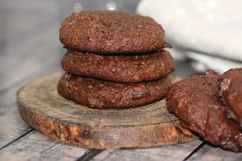 Chocolate Cake Almond Pulp Cookies