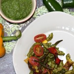 Pasta With Roasted Vegetables And Basil-Hemp Pesto
