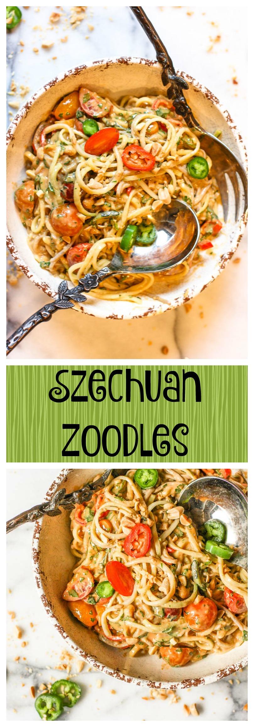 szechuan zoodles