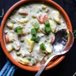 Paleo Chicken Pot Pie Soup