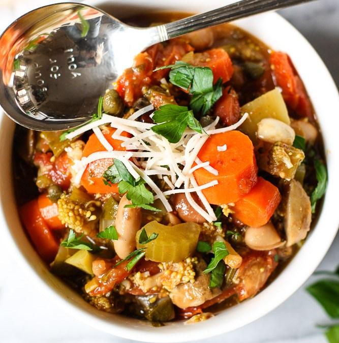 Simple Fresh Vegetable Soup
