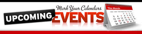 Events mark your calendar Opt