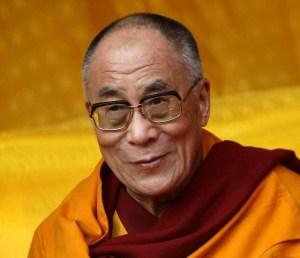 Photo of the Dalai Lama and his Mayan Astrology