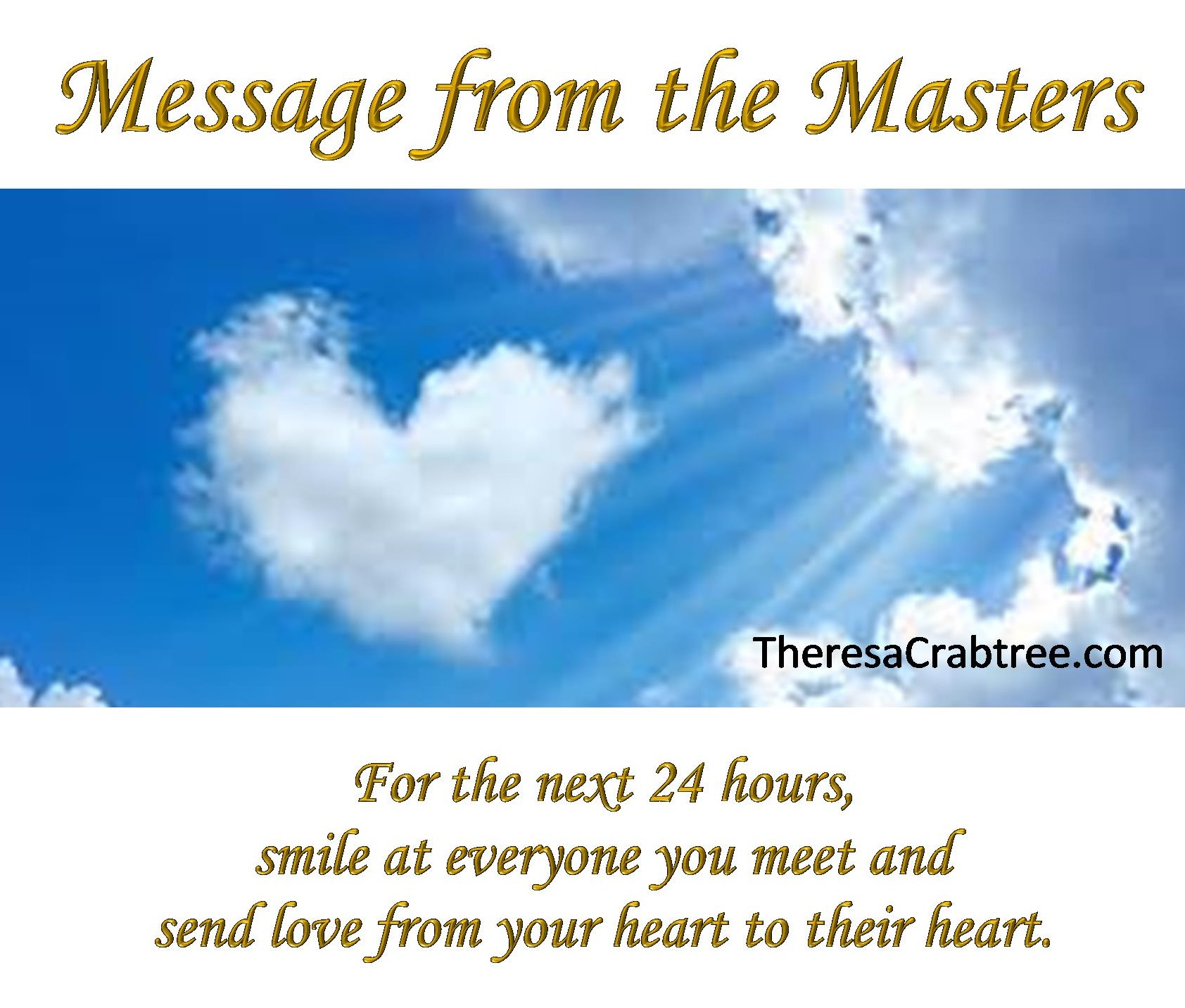 Message from the Masters