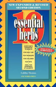 10 Essential Herbs Book Cover
