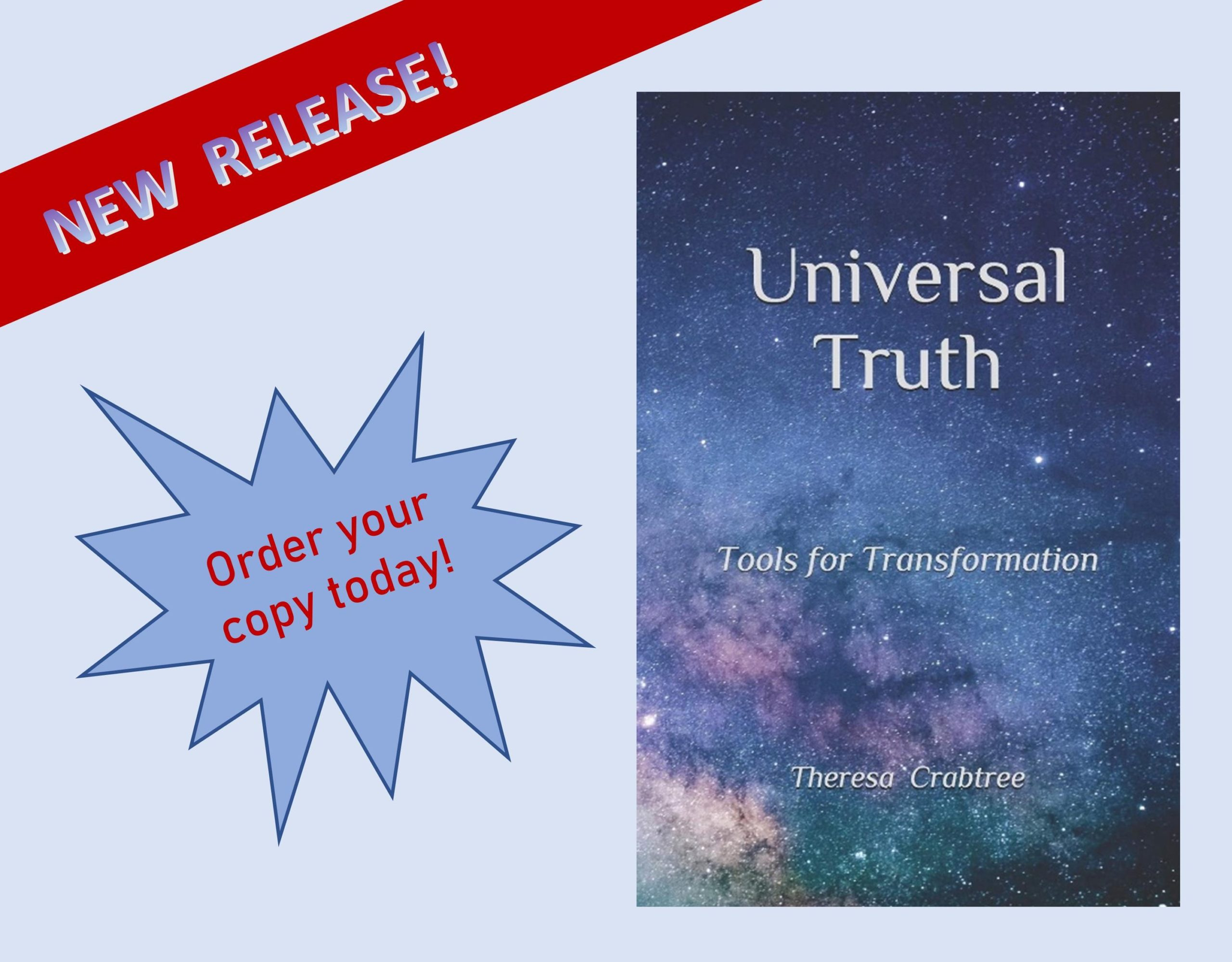 Check out my new book,  Universal Truth!
