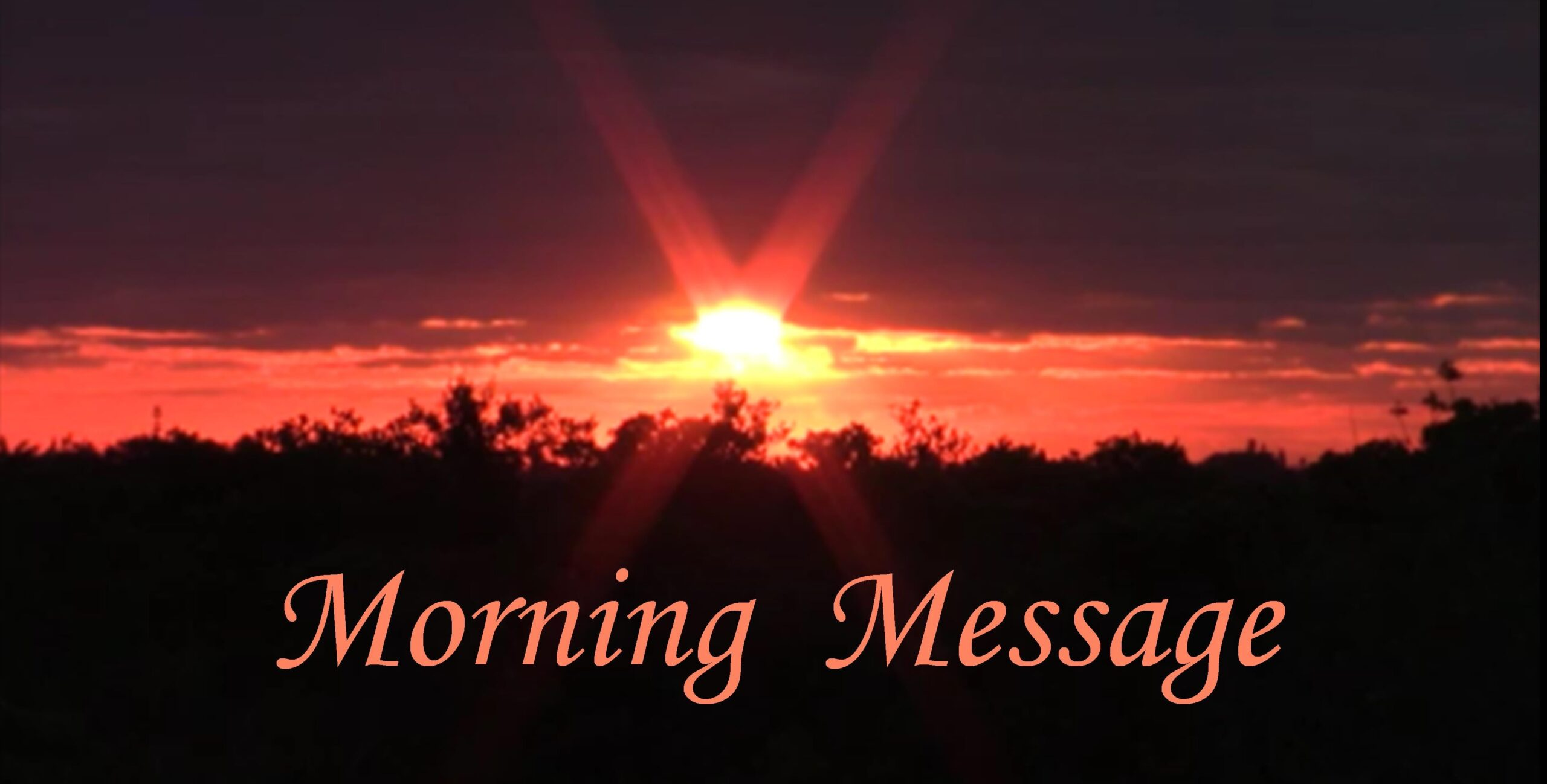 Morning Message 101721