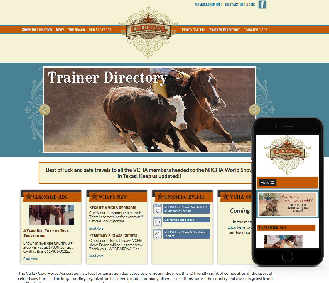 California Cowhorse Association
