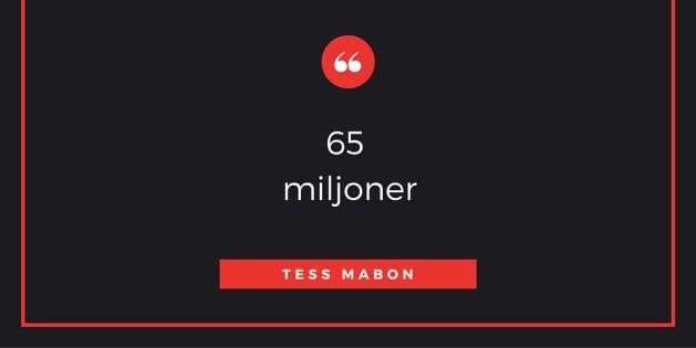 65 miljoner