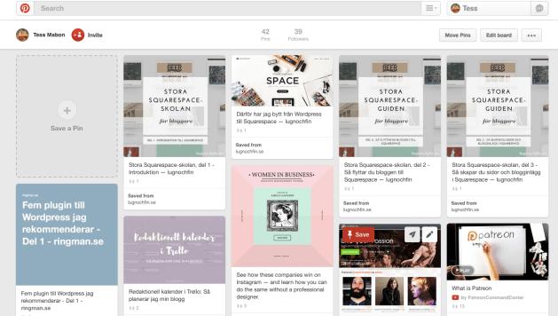 Therese Mabon - vill du börja blogga?