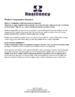 Workers Compensation Insurance