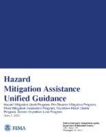 Hazard Mitigation Assistance Unified Guidance