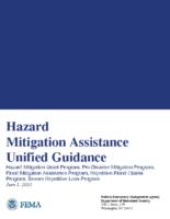 Hazard Mitigation Assistance Unified Guidance