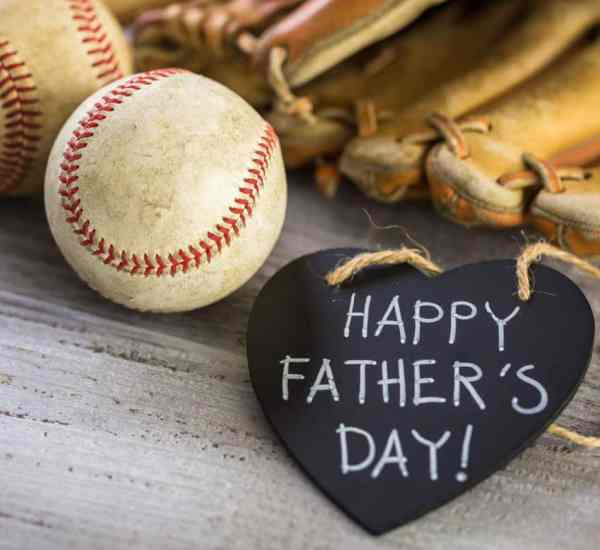 Happy Father's Day, baseball dad