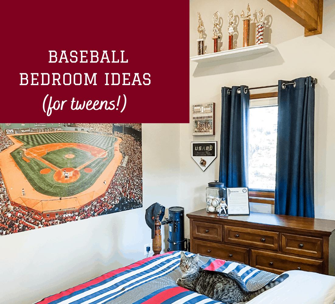 Baseball Bedroom Ideas for Tweens