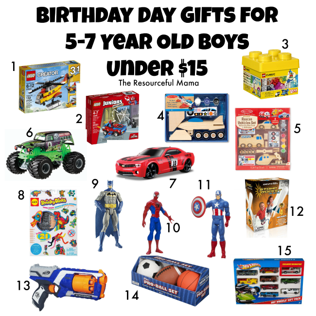 Christmas Gifts For 5 Year Old Boys