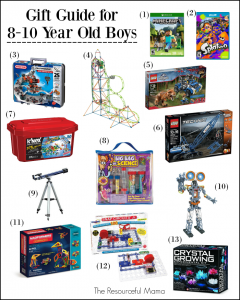 Gift Ideas 810 Year Old Boys