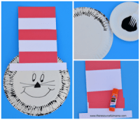 Paper Plate Dr Seuss Cat in the Hat Craft - The ...