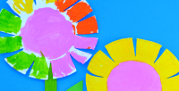 Paper Plate Flower Craft for Kids - The Resourceful Mama